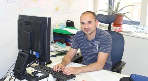Jaime Fraile, jefe de servicio de la Oficina de Planificación Hidrológica de la CHS
