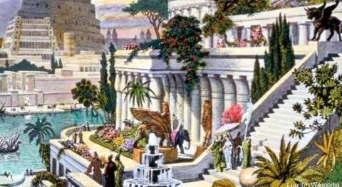 jardines colgantes Babilonia pudieron llegar consumir más 30.000 litros agua al día