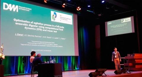 DAM presenta AD16 IWA estudio mejora rendimiento digestor anaerobio