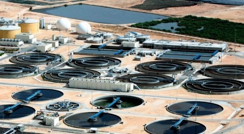 Suez inaugura ampliación planta tratamiento aguas residuales más grande Jordania