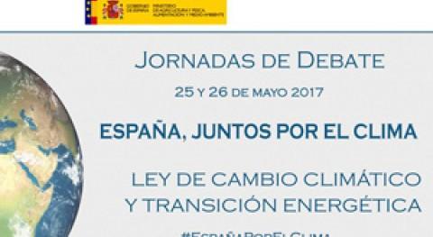 """Jornadas debate """"España, Juntos Clima"""""""