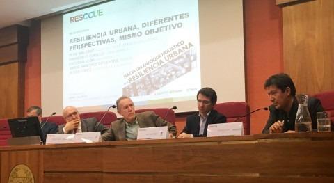 necesidad enfoque holístico resiliencia urbana, debate Madrid