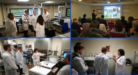 Encuentro investigadores IMDEA Agua y expertos checos gestión agua