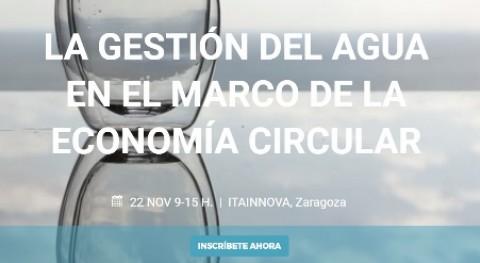 II Edición Jornada Anual ZINNAE - gestión agua marco economía circular