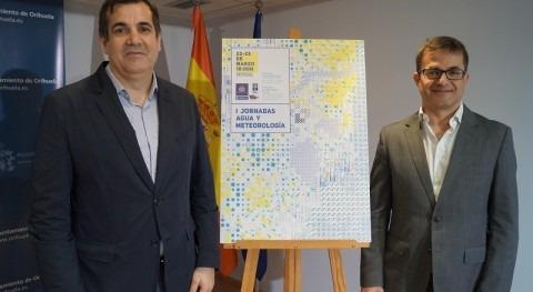 """I Jornadas """"Agua y Meteorología"""" Ayuntamiento Orihuela colaboración HIDRAQUA"""