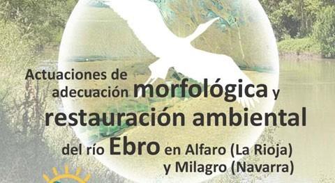 Charla presentación propuesta recuperación ambiental Ebro Alfaro ( Rioja) y Milagro (Navarra)