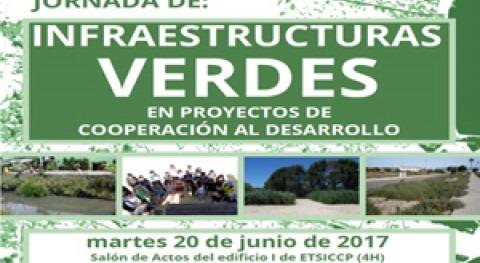 """Jornada: """"Infraestructuras Verdes proyectos Cooperación al Desarrollo"""""""