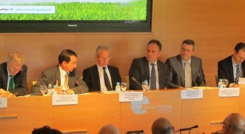 Miguel Antolín analiza futuro regadío Plan cuenca Tajo