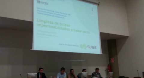 SUEZ participa 10ª Jornada Técnica SARGA tecnología comunidades regantes