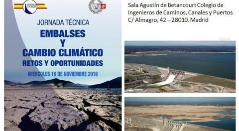 embalses y cambio climático