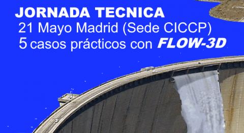 Jornada Técnica - Modelización numérica FLOW-3D Madrid