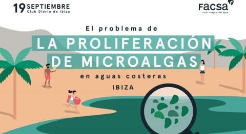 FACSA analiza Ibiza problemas asociados proliferación microalgas