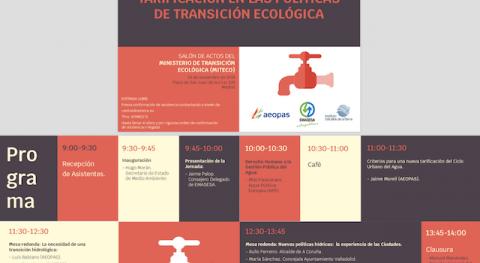 Derecho humano al agua y tarificación políticas transición ecológica