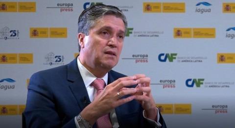 "José Carrera: "" Diálogos son referente nivel regional discusiones agua"""