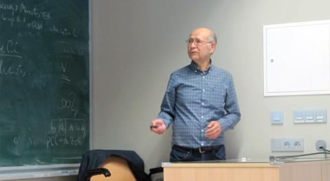 """D.José Salas: """" planificación hídrica debe valorar factor antrópico y variabilidad clima"""""""