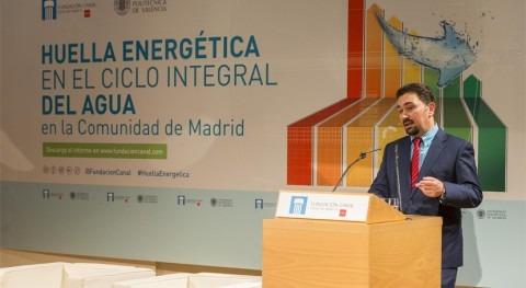 estudio CALAGUA analiza consumo y ahorro energético ciclo integral agua Madrid