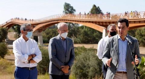 Junta Andalucía invertirá 8,9 millones obras defensa río Guadalhorce
