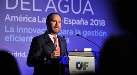 """Julián Suárez: """" innovación es fundamental mejorar soluciones gobernanza agua"""""""