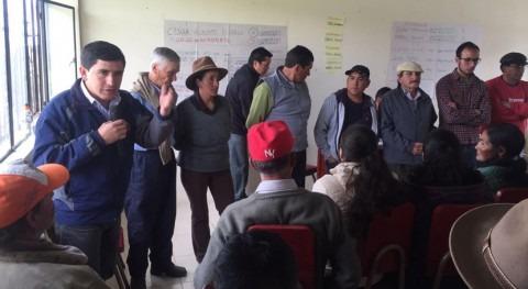 Ecuador renueva juntas agua Cotopaxi