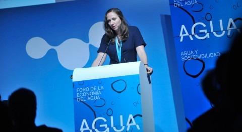 """Katheleen Dominique: """"Estamos creando puente sector agua y sector financiero"""""""