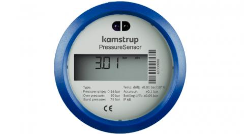 Kamstrup presenta nueva solución supervisión caudal y presión agua