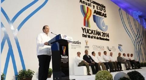 David Korenfeld abre la  inauguración de la XXVIII Convención Anual y Expo ANEAS 2014