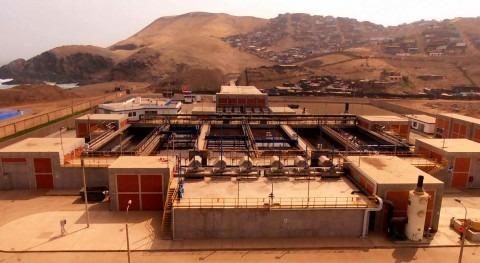 depuradora Chira, construida y operada ACCIONA, cumple 5 años funcionamiento