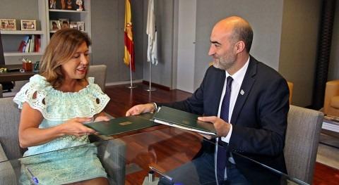 Galicia y Celanova acuerdan mejorar redes abastecimiento y saneamiento local