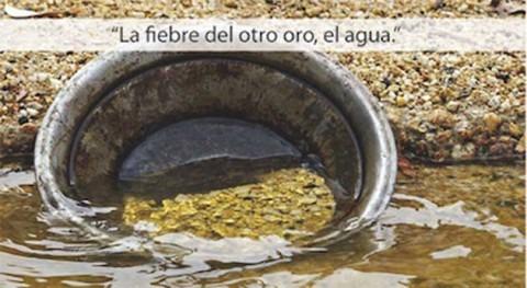 """"""" fiebre otro oro, agua"""""""