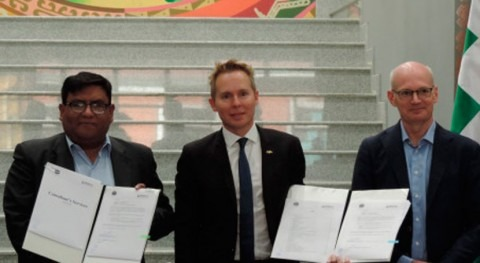 Bolivia inicia estudio planta tratamiento aguas residuales Paz