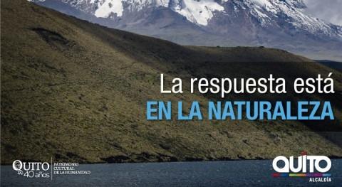 Futuro Agua está Naturaleza, tus manos está cuidarla