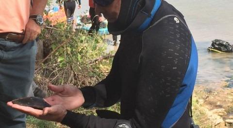 Rioja colabora trabajos prospección descubrimiento náyades Ebro