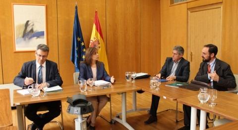 Encuentro Rioja y Gobierno central Pacto Nacional Agua