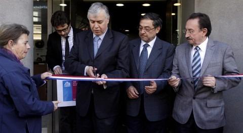 Acto de apertura de la oficina de la CNR en Araucanía