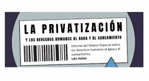 Gestión pública o privada agua: ExRelator dice que no es lo mismo