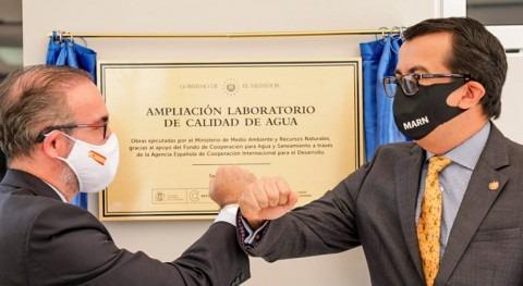 Gobierno Salvador amplía instalaciones Laboratorio Calidad Agua