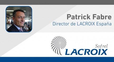 Nuevo nombramiento Patrick Fabre como Director LACROIX España