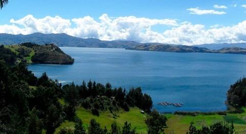 Gobierno apuesta recuperación lago más grande Colombia