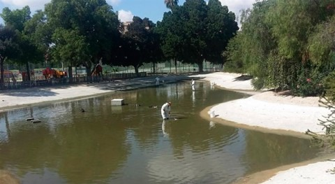Murcia finaliza labores acondicionamiento lago Fofó municipio