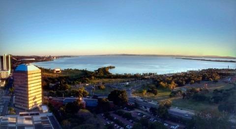 lago que convirtió Porto Alegre ciudad más competitiva