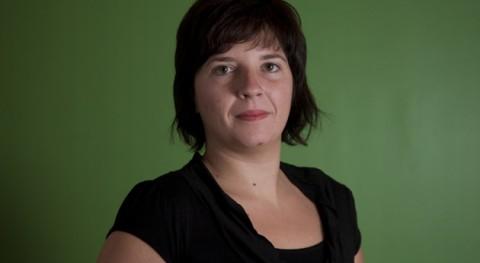 Laia Ortiz, diputada de la Izquierda Plural (IU-ICV-CHA)