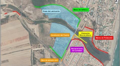 MITECO licita redacción proyecto laminación avenidas río Antas, Vera