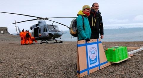 ¿Cómo medir espesores hielo Antártida ahora inaccesibles?