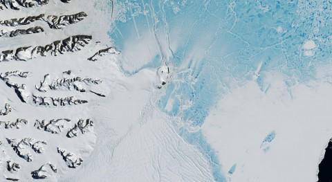 mayores icebergs historia se desprende barrera Larsen C Antártida
