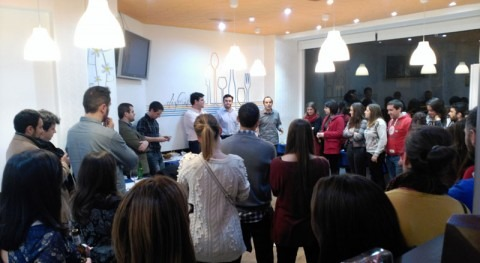 Éxito convocatoria primer GreenDrinks Madrid especial #waterpeople