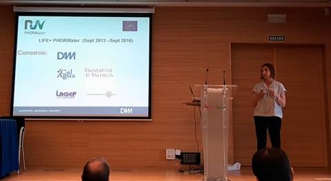 DAM presenta resultados proyecto PHORWATER jornada recuperación fósforo