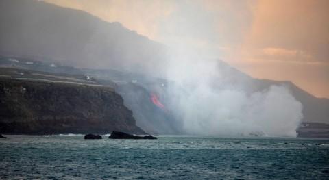 Cumbre Vieja: efecto erupción volcánica agua y ecosistema marino
