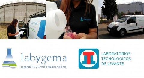 LABYGEMA UTE LTL renuevan contrato análisis aguas ALJARAFESA