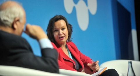 "Leire Pajín: "" agua es ODS fundamental desarrollo equitativo sostenible planeta"""