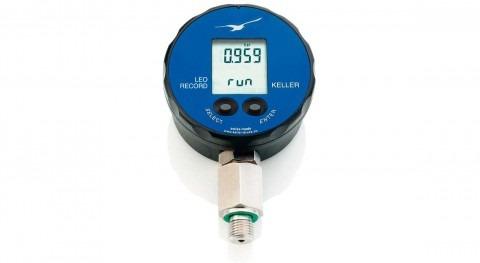 Manómetro digital Keller LEO Record registro presión y temperatura y conexión PC (USB)